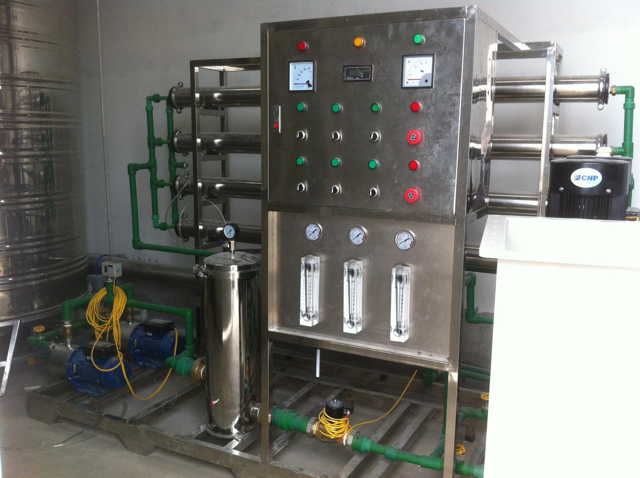 Máy lọc nước công nghiệp 2500L/h