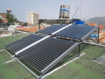 Máy năng lượng mặt trời hệ công nghiệp 3000L