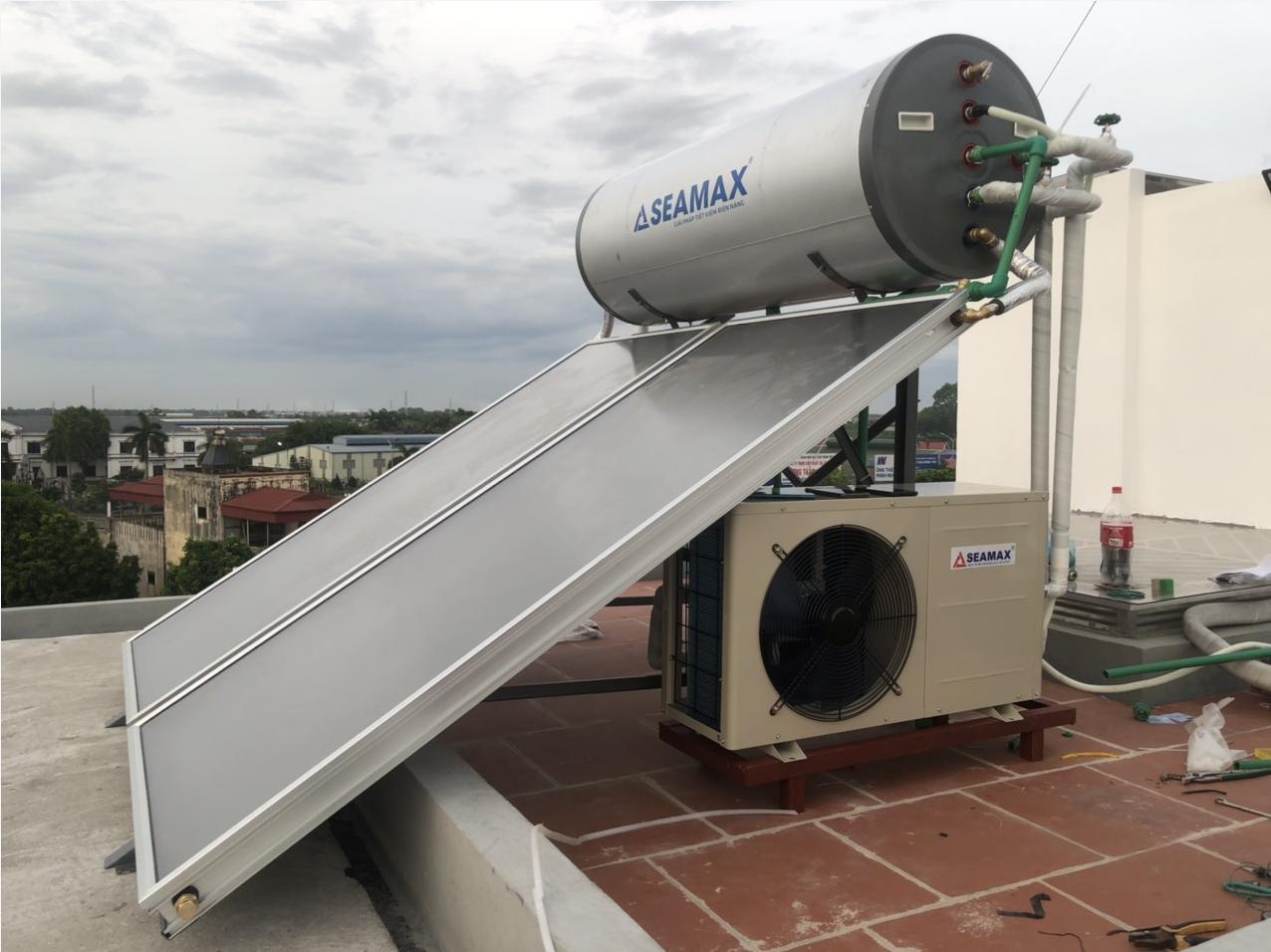 Máy bơm nhiệt tích hợp năng lượng 300L