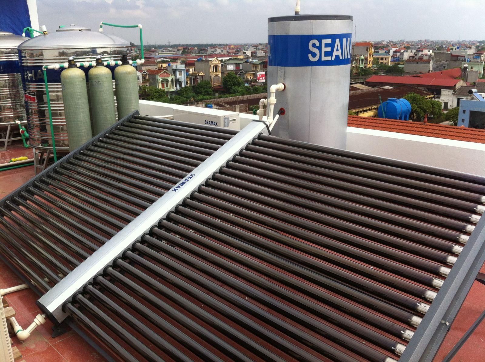 Máy năng lượng mặt trời dạng ống