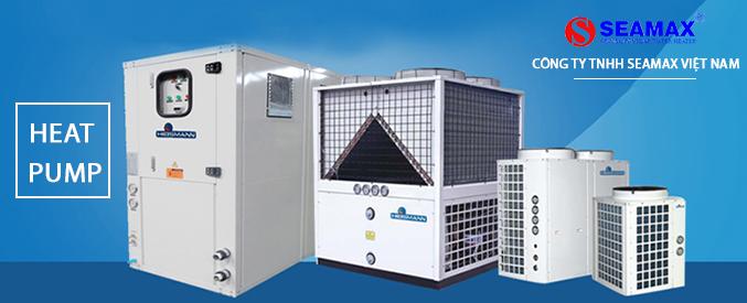 Máy bơm nhiệt heat pump sử dụng trong khách sạn