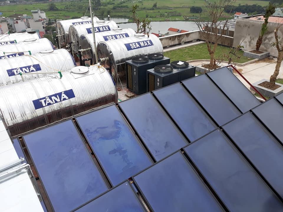 Giải pháp nước nóng trung tâm cho bệnh viện nông nghiệp